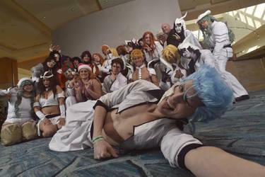 Espada Cosplay Group Bleach by SceneCreator