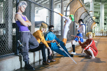 Vizard Cosplay Group Bleach by SceneCreator