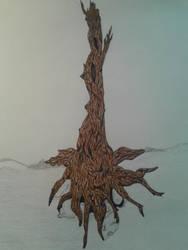 A lone Tree by didadoll