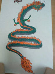 Angry Soba on A3 paper by didadoll