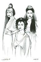 Dracula's Brides by ByronWinton
