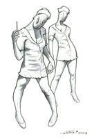Nurses by ByronWinton