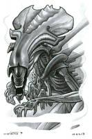 Alien Queen by ByronWinton