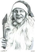 Santa by ByronWinton