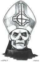 Papa Emeritus II by ByronWinton