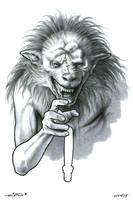 Werewolf Ed by ByronWinton
