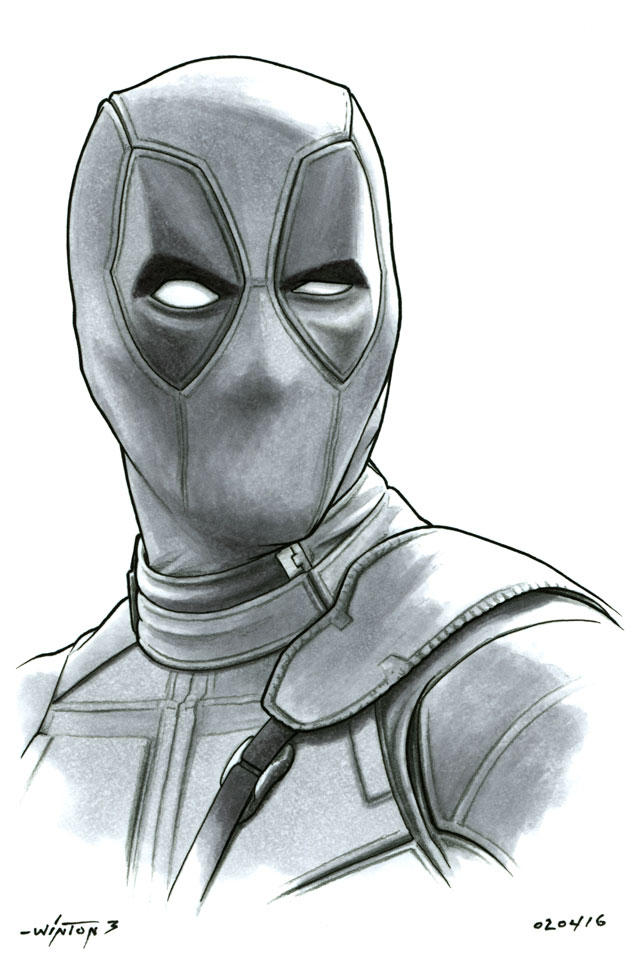 Deadpool by ByronWinton
