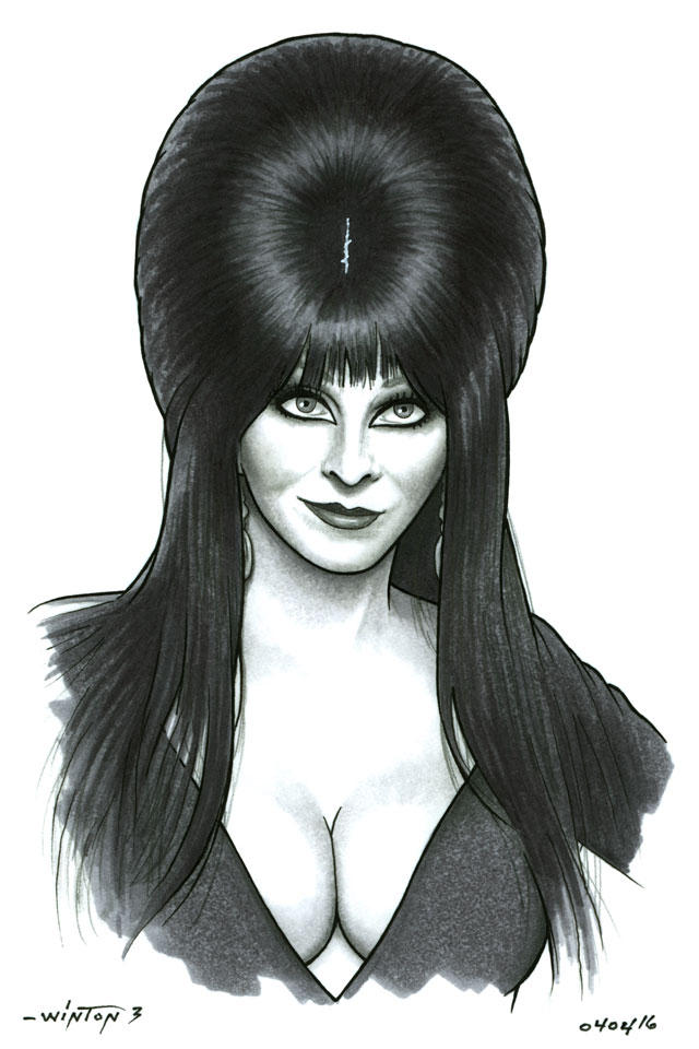 Elvira by ByronWinton