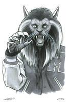 MJ Werewolf by ByronWinton