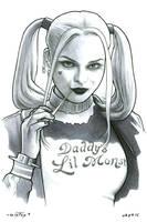 Harley Quinn by ByronWinton