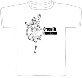 Crossfit tshirt female by warrenEBB