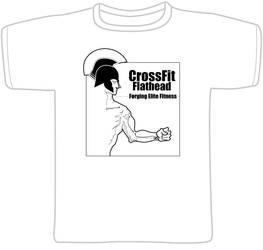 Crossfit tshirt male by warrenEBB