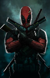 deadpool by saadirfan
