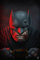 Batman rough night.. by saadirfan
