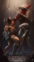 Copper-warrior by saadirfan