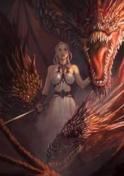 Mother-of-dragons by saadirfan