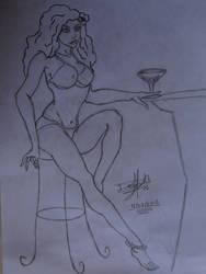 .: Estoy Solita :. by jerkylink90