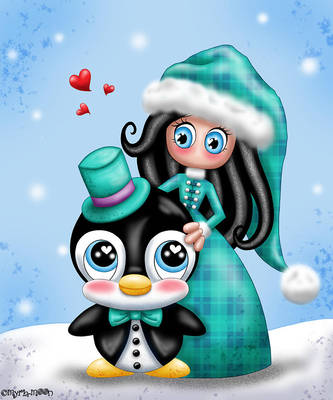 Mon petit pingouin by Myria-Moon by Myria-Moon