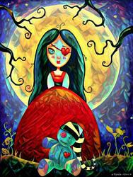 Colette au clair de Lune by Myria-Moon . by Myria-Moon