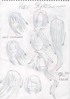 Hair Styles and Wing Movement by ofir770
