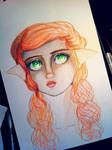 Elf WIP by AddyinWonderland