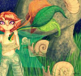 Snails Worker by AddyinWonderland