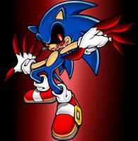 Sonic.exe modern by yoshido123