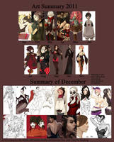 Art Summary 2011 + Dump by Aidontknow