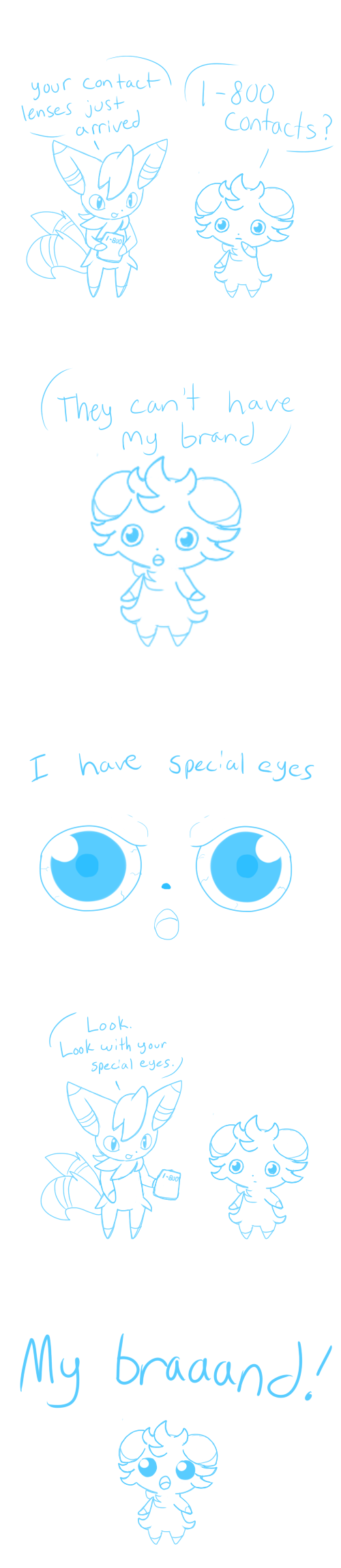 Espurr Has Special Eyes By Little Painter On Deviantart