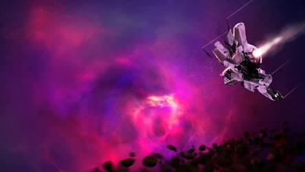 Supernova Remnant XR by Ls777