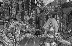 Horror Commissie by RaquelArtQ
