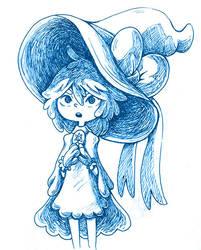 Snow Witch by hajimikimo