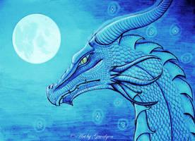 Dragon night by Gewalgon