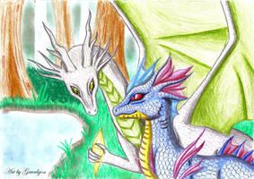 Adventure of little dragons by Gewalgon