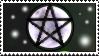 Magical Moon Pentagram - Stamp - by Gewalgon
