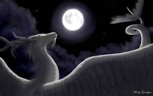 Dragons Moonlight by Gewalgon