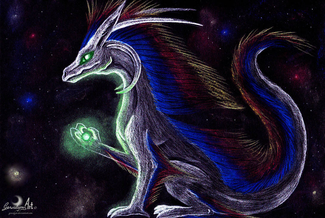 Deltan - Dragon of Universe by Gewalgon