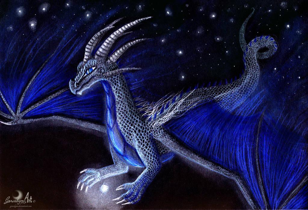 Dragon of Night by Gewalgon
