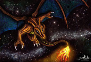 Pokemon Fanart: Charizard - Master of flying fires by Gewalgon