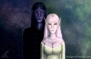 Where opposites meet by Gewalgon