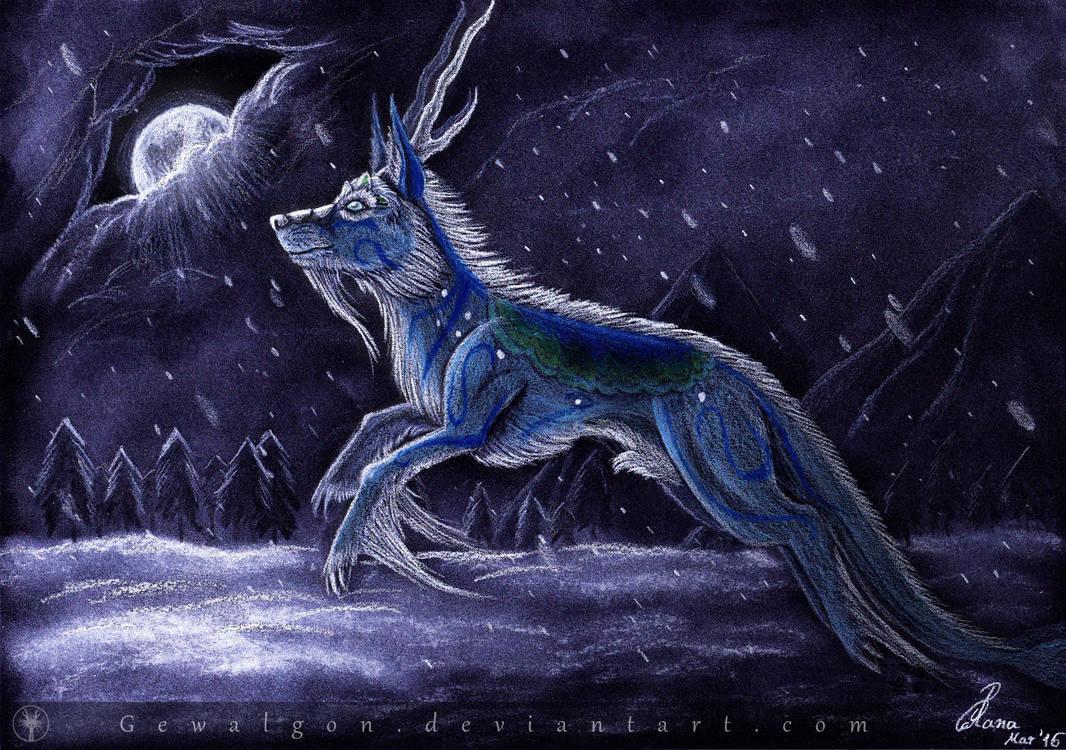 [ART TRADE] Winterbringer Iskisdra by Gewalgon