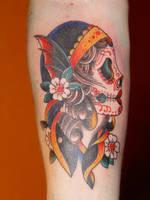 girl skull by jangotat2