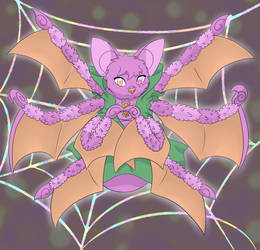 Spider Bat: Magical Girlified by silhouette345