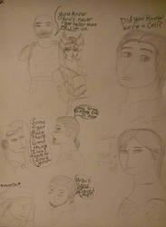 Star wars rebels doodles by DeejahThoris