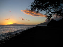 Sunset in Kihei by sean335
