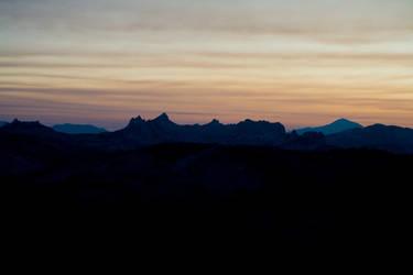 High Sierra Skyline by sean335
