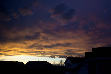 Sunset Clouds by fastsite