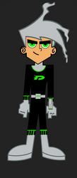 Danny Phantom Style: Uniform 3 (YJHU) by Davidscrazy2345