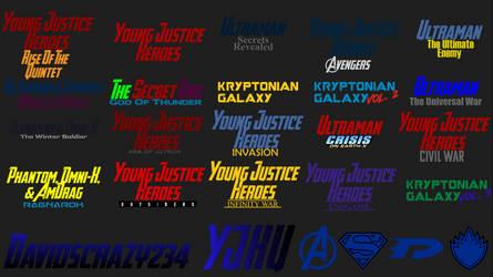 YJHU Fanfiction Series Titles Vol. 3 by Davidscrazy2345