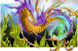 Sea dragon by finiens